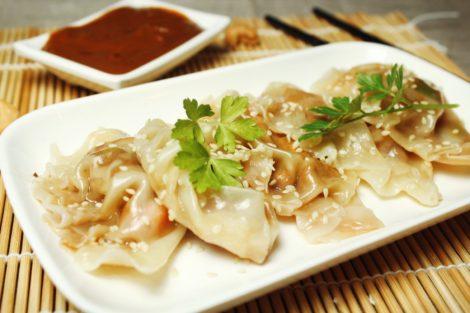 Vegane Gyoza mit Tofu