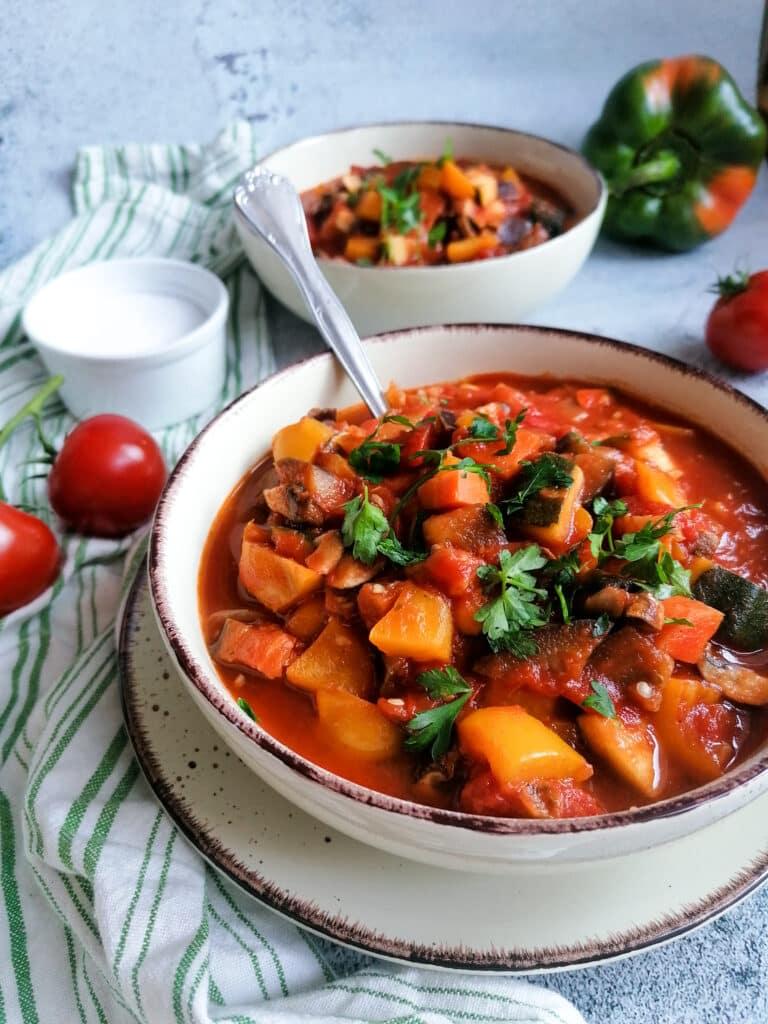 Gemüse Ratatouille schnell und einfach