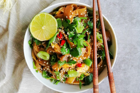 Vegetarisches Pad Thai