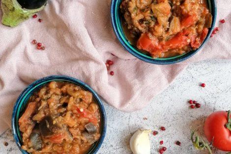 Zaalouk Auberginen Salat