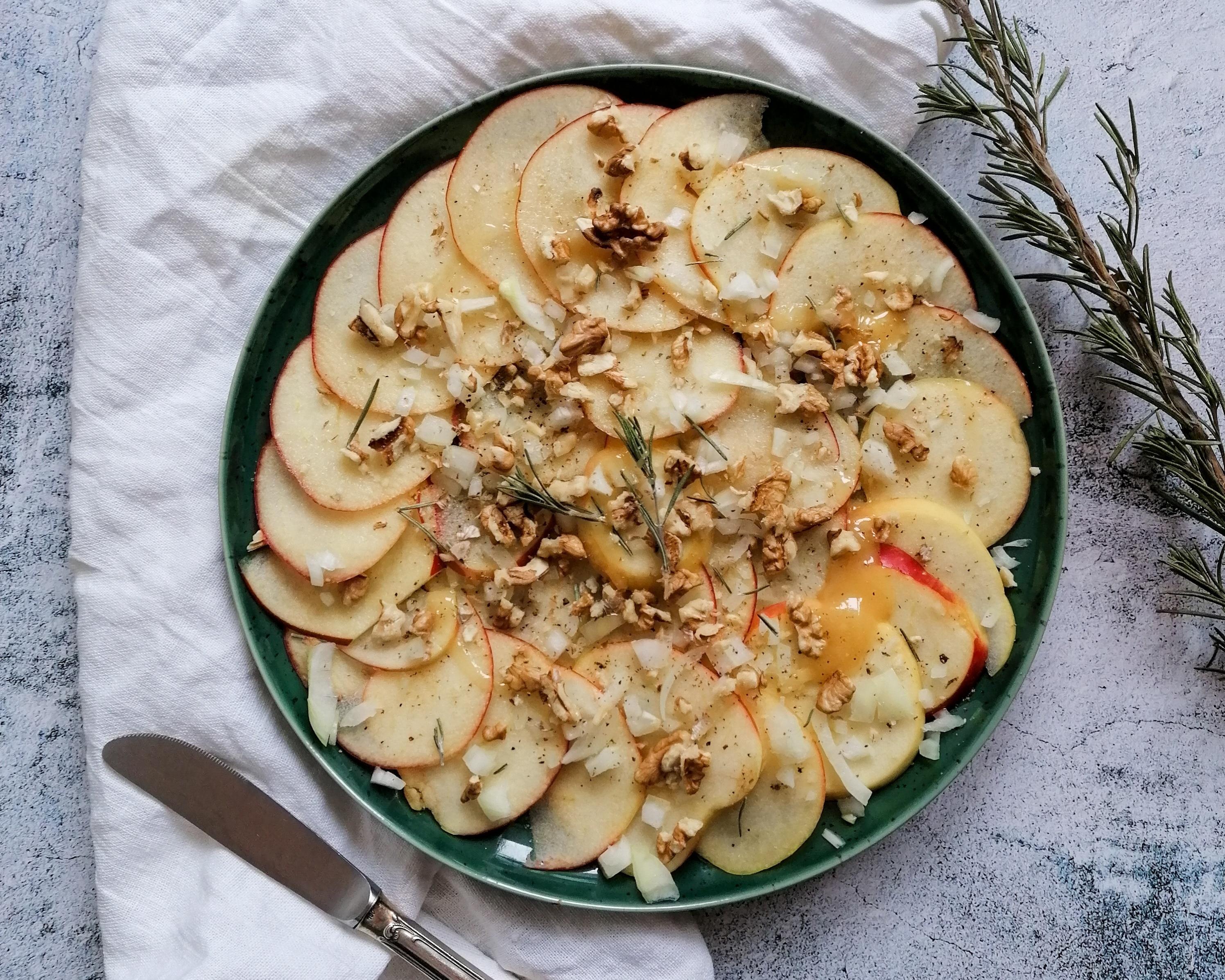 Apfel Carpaccio
