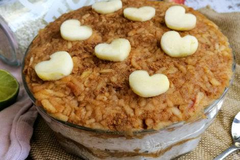 Apfel-Zimt-Reis
