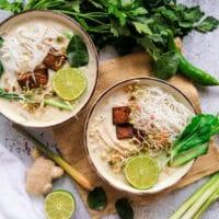 Tom Kha Gai Suppe vegetarisch