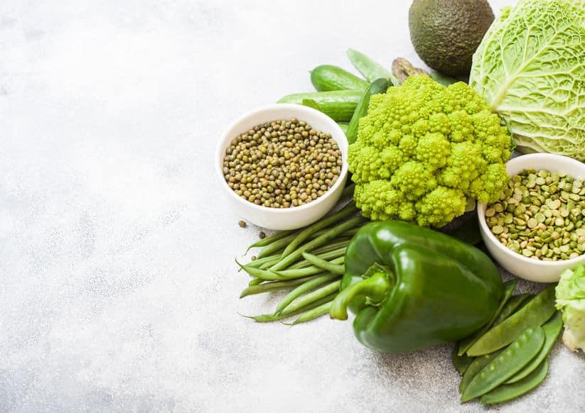 Gesunde vegetarische Ernährung
