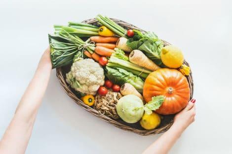 saisonales Gemüse Herbst