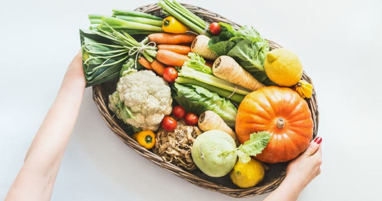 Günstiges saisonales Gemüse im Herbst