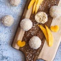 Vegane Raffaelo mit Mango