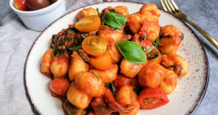 Gnocchi in Tomatensauce