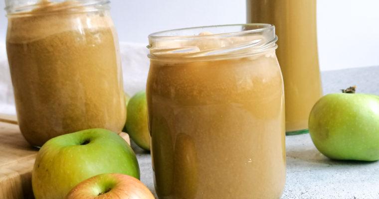 Naturtrüber Apfelsaft selber machen