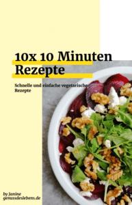 Kostenloses E-Book 10 Minuten Rezepte