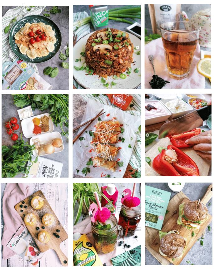 Referenzen Genuss des Lebens Beispiel Foodblog Kooperationen