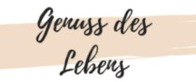 Genuss des Lebens – Vegetarische, gesunde Rezepte Logo