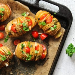 Fächerkartoffeln aus dem Ofen
