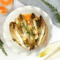Chicorée mit Orange
