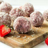 Energy Balls mit Kokos ohne Datteln