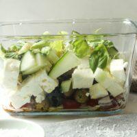 Griechischer Salat Low Carb