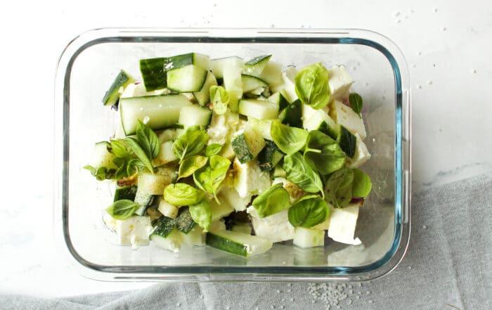 Low Carb Griechischer Salat