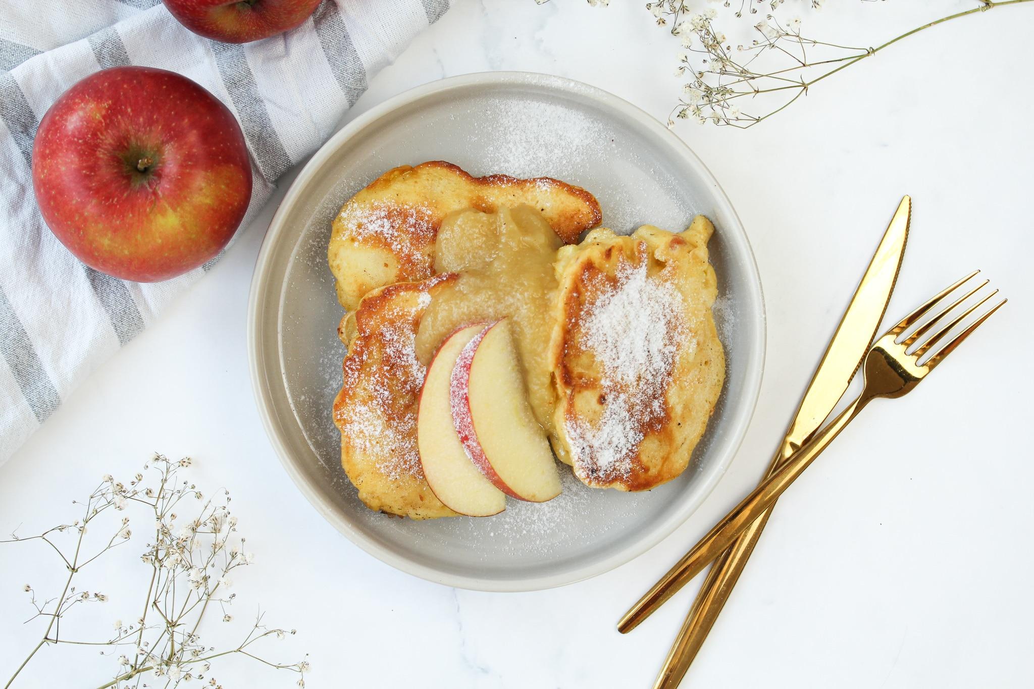 Rezept Apfelküchle ohne Zucker